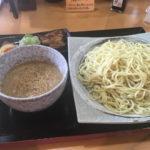 萬楽らーめん!つけ麺が夏に人気です。