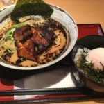 LUNCH SET Aランチ ごっついらーめん + 温玉丼