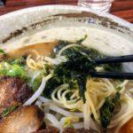 世界に誇れるらーめん制作中!ヘルシー鯛スープ&自慢豚骨スープのWスープ
