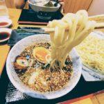 ごっついつけ麺は太麺です